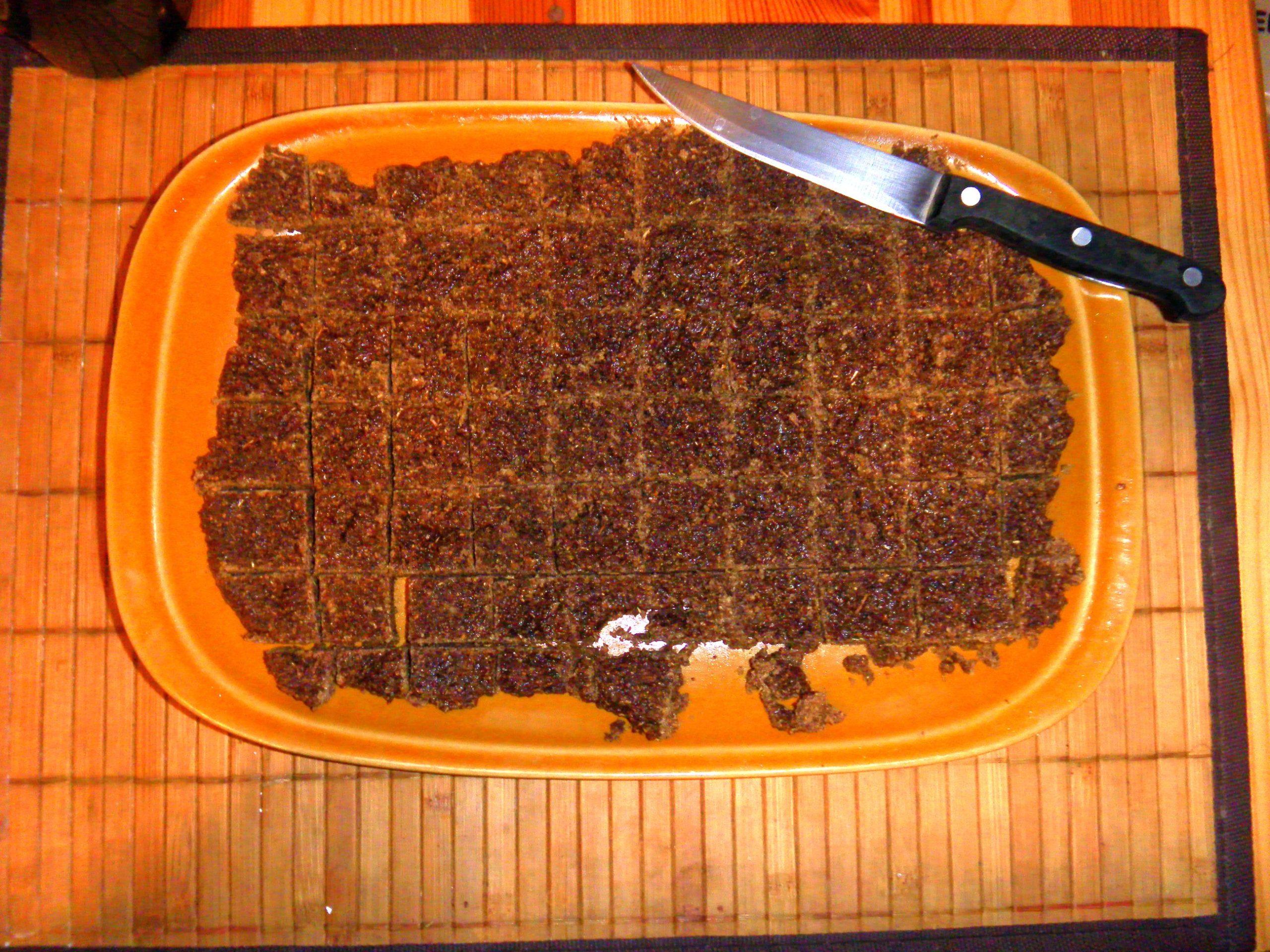Czekolada z lipy i jałowca – potrawa przykładowa